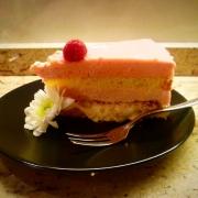 abbinamento con i 7 vizi capitali, fetta di torta