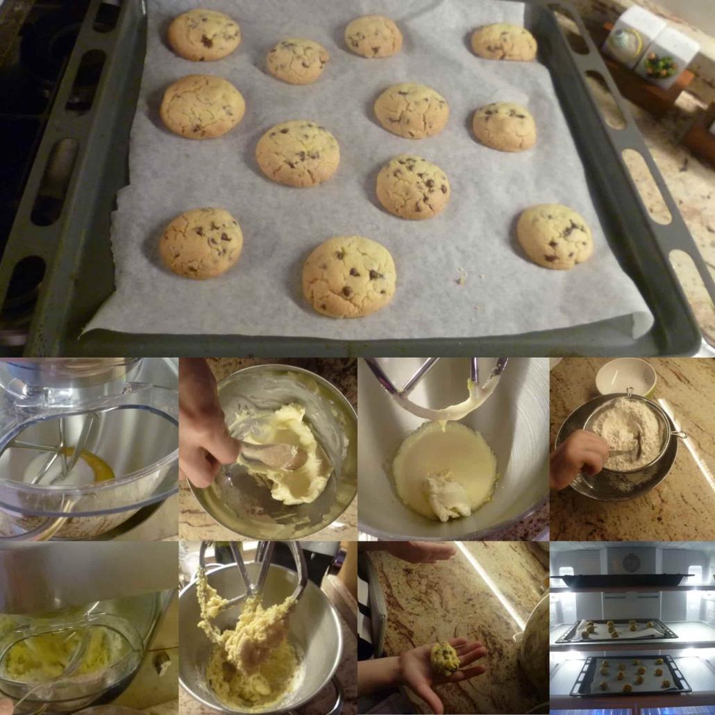 fasi preparazione cookies