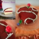 el corazon espinado esterno, fetta tagliata e decorazione a forma di rosa