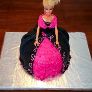 Barbie cake decorata in pdz