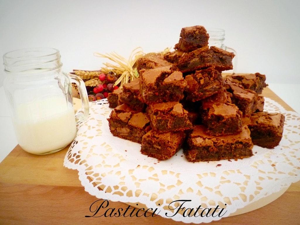 brownies e latte