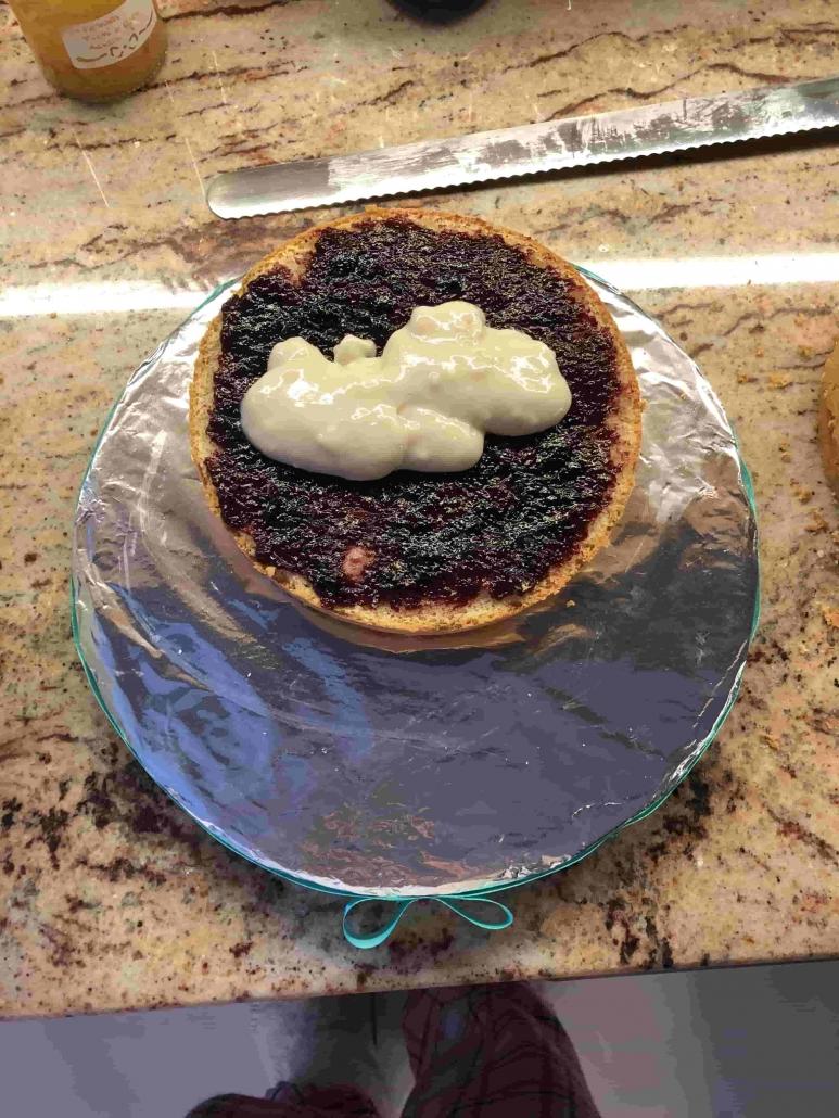 farcitura della torta