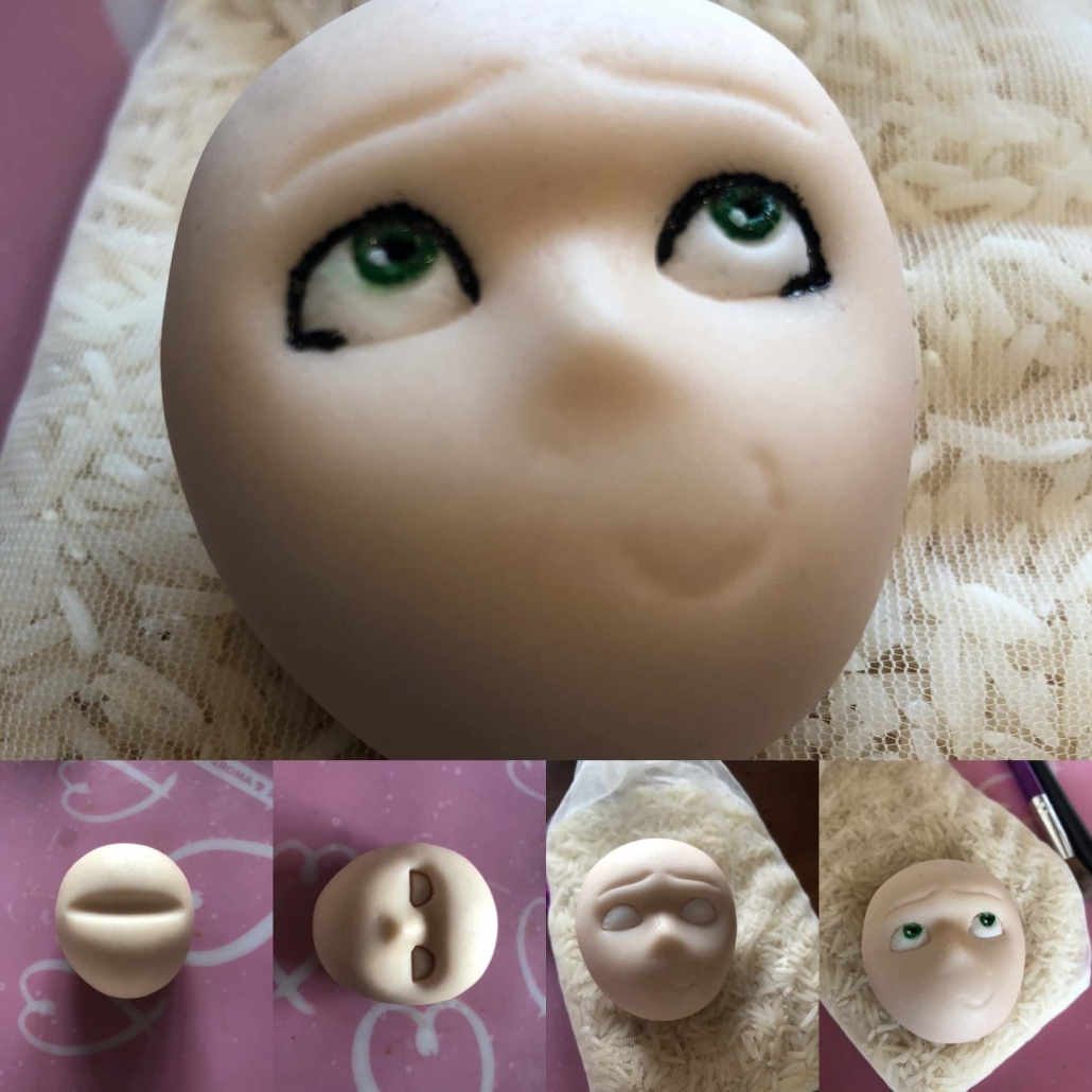 fasi per la preparazione del viso