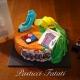 primo piano building site cake