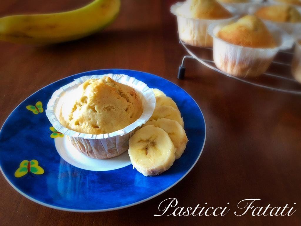 muffin con banana