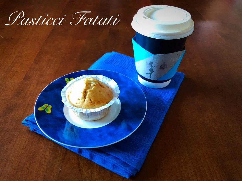 muffin con caffè americano
