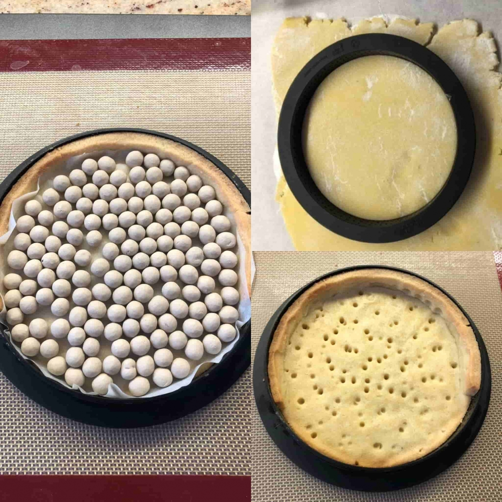 fasi per cuocere la crostata