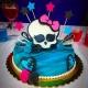 monster high's cake finita