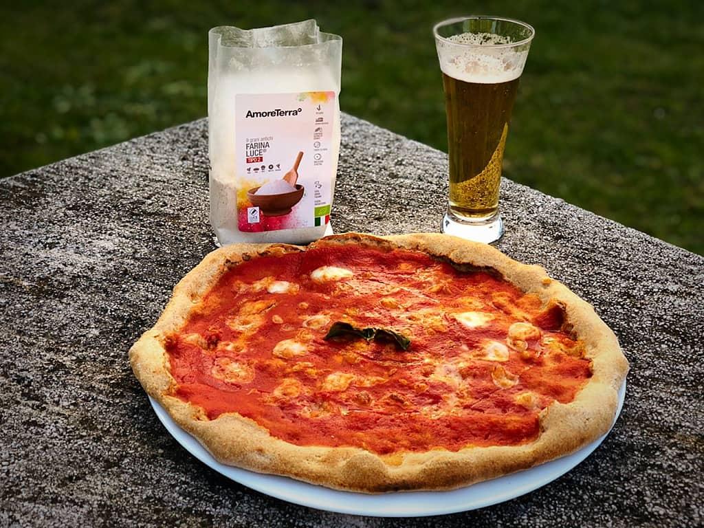 pizza semintegrale