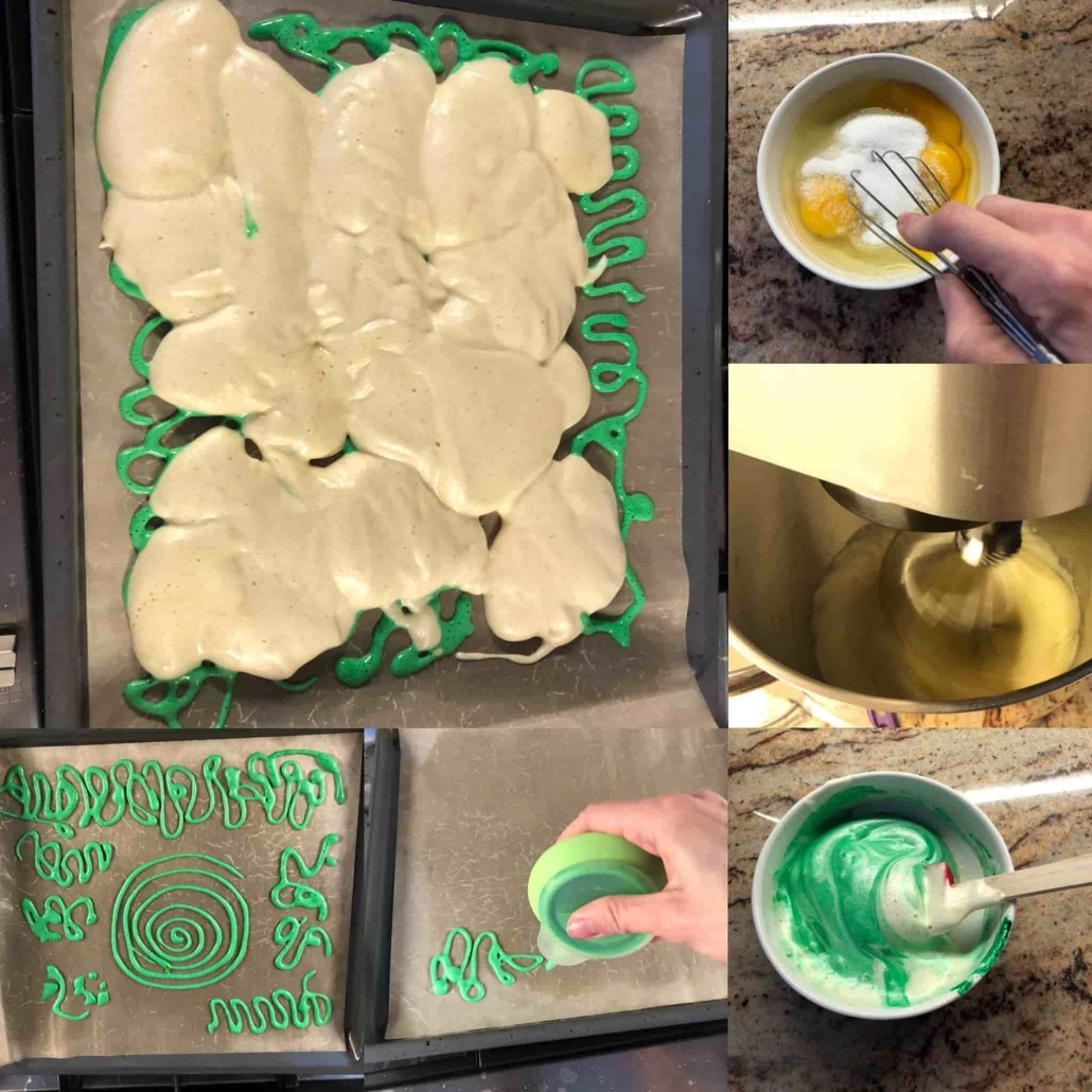 fasi per preparare la pasta biscotto