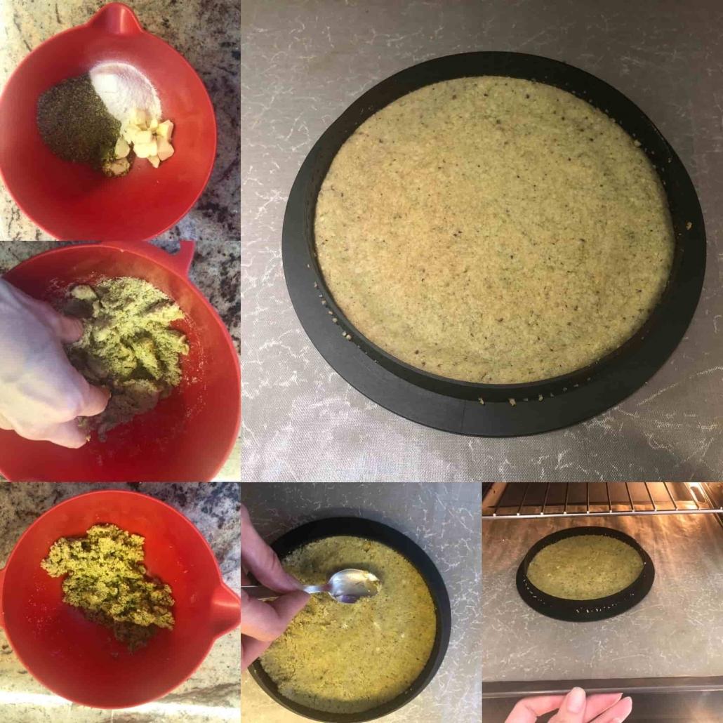 preparare il crumble al pistacchio