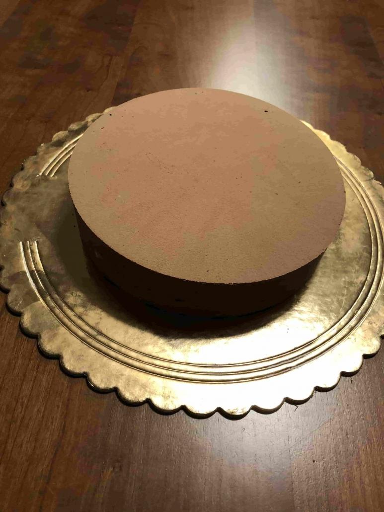 exotic cake assemblata prima della decorazione