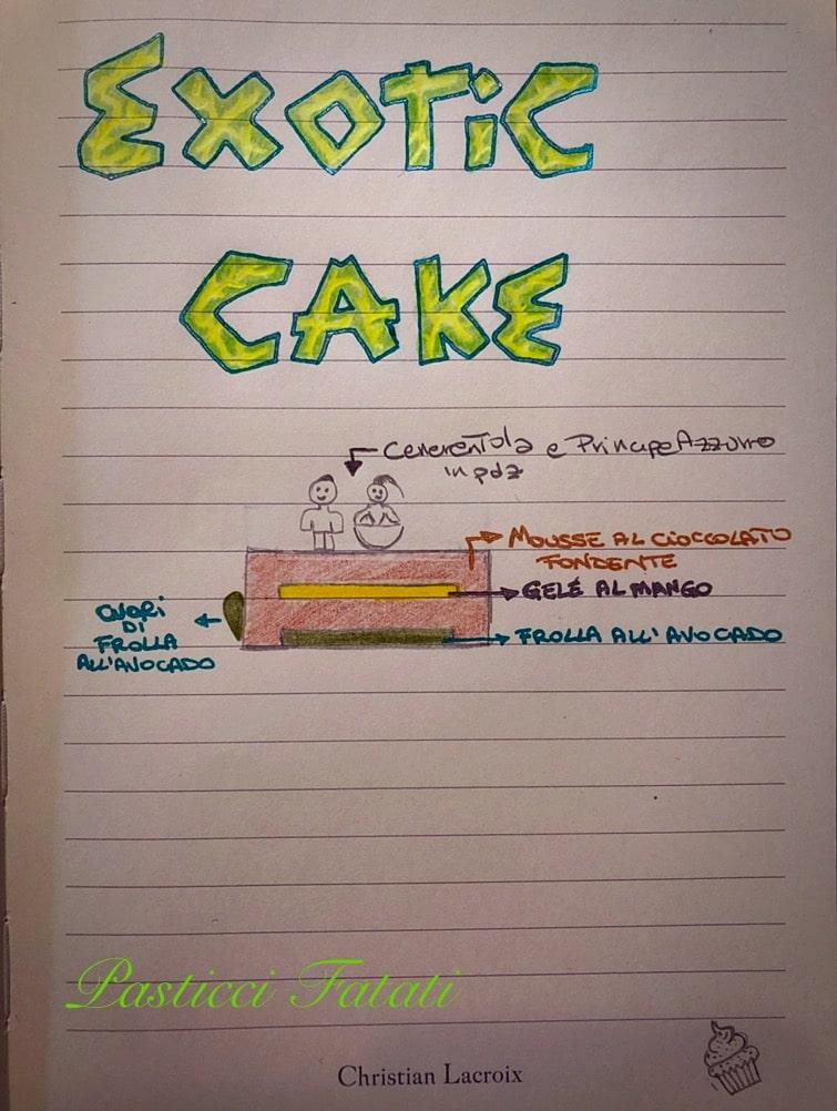 progetto exotic cake