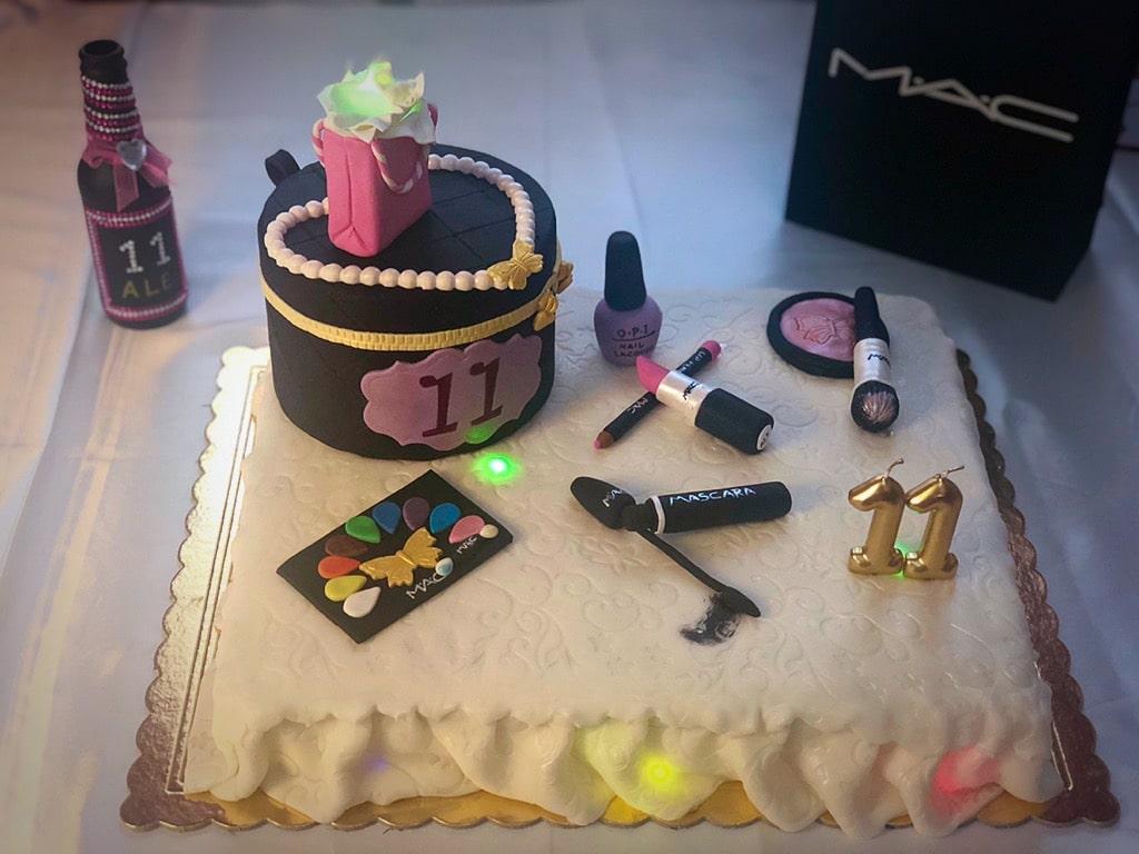 torta per make up party