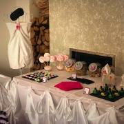 tavolo dei dolci per make up party