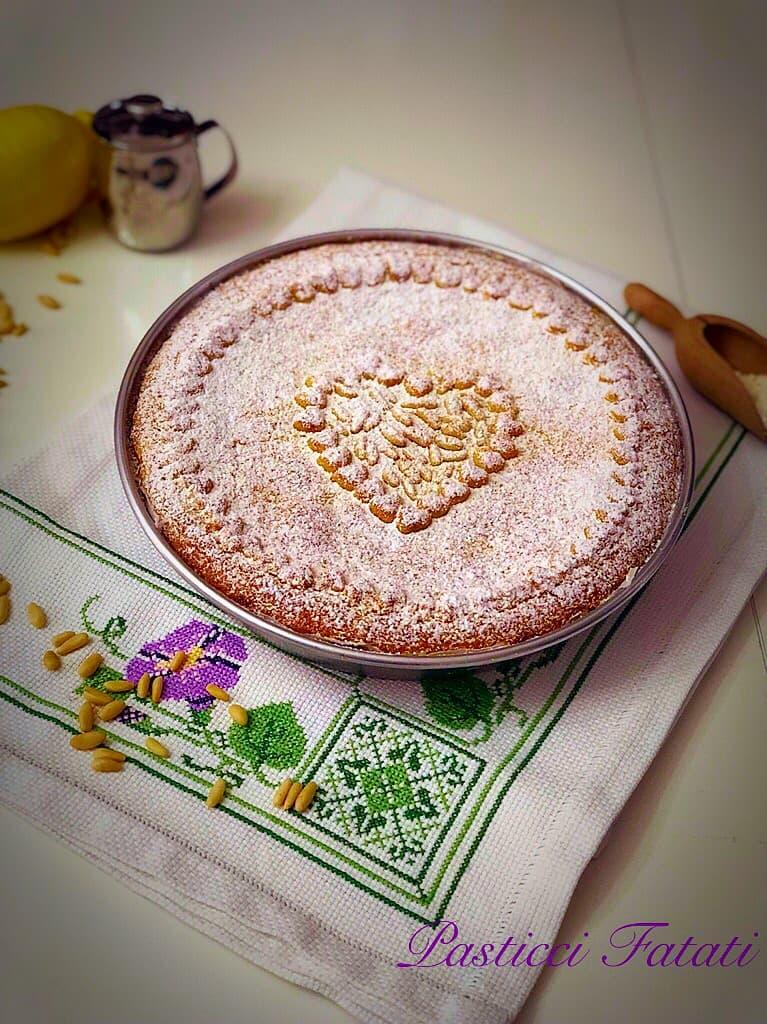 torta della nonna bimby con ingredienti