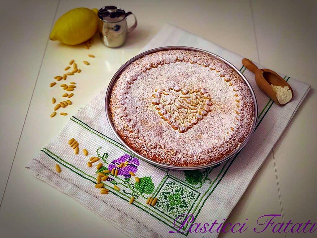 torta della nonna bimby intera