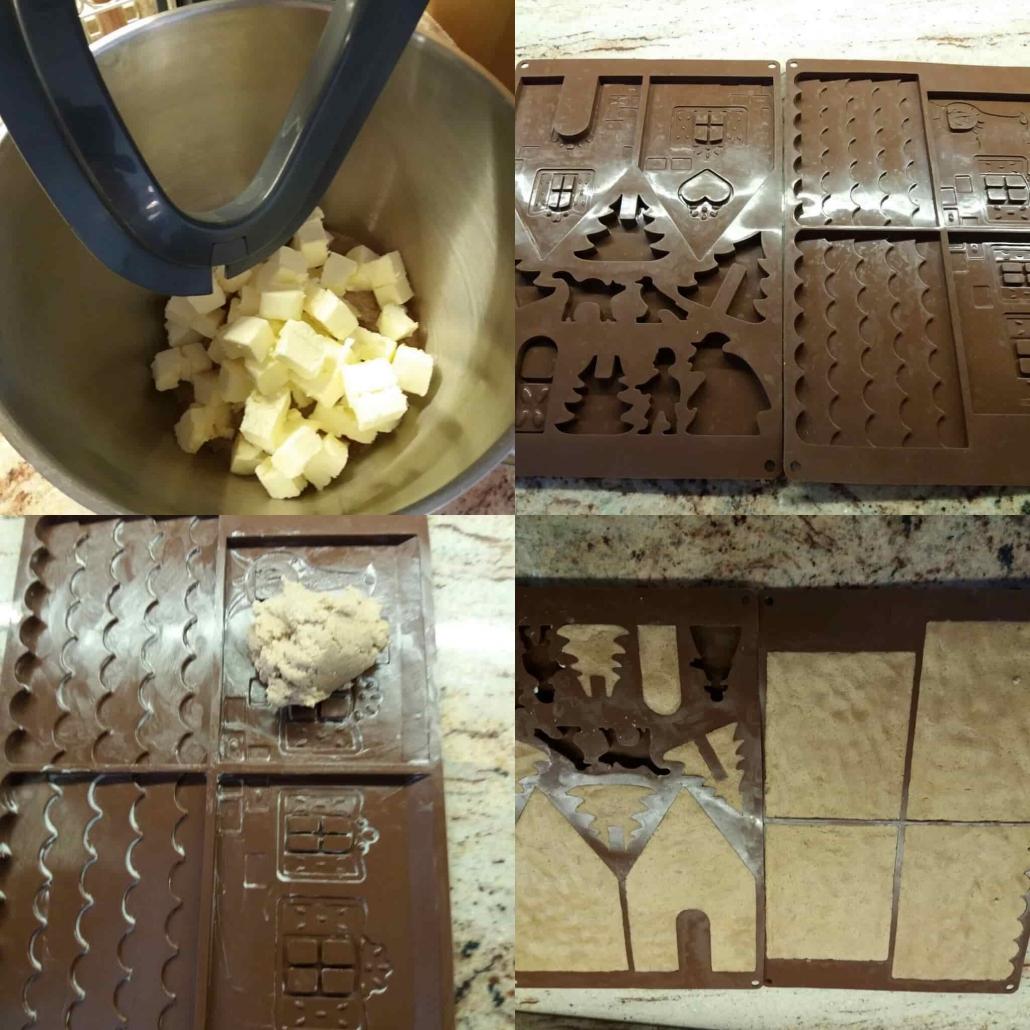fasi per preparare il pan di zenzero