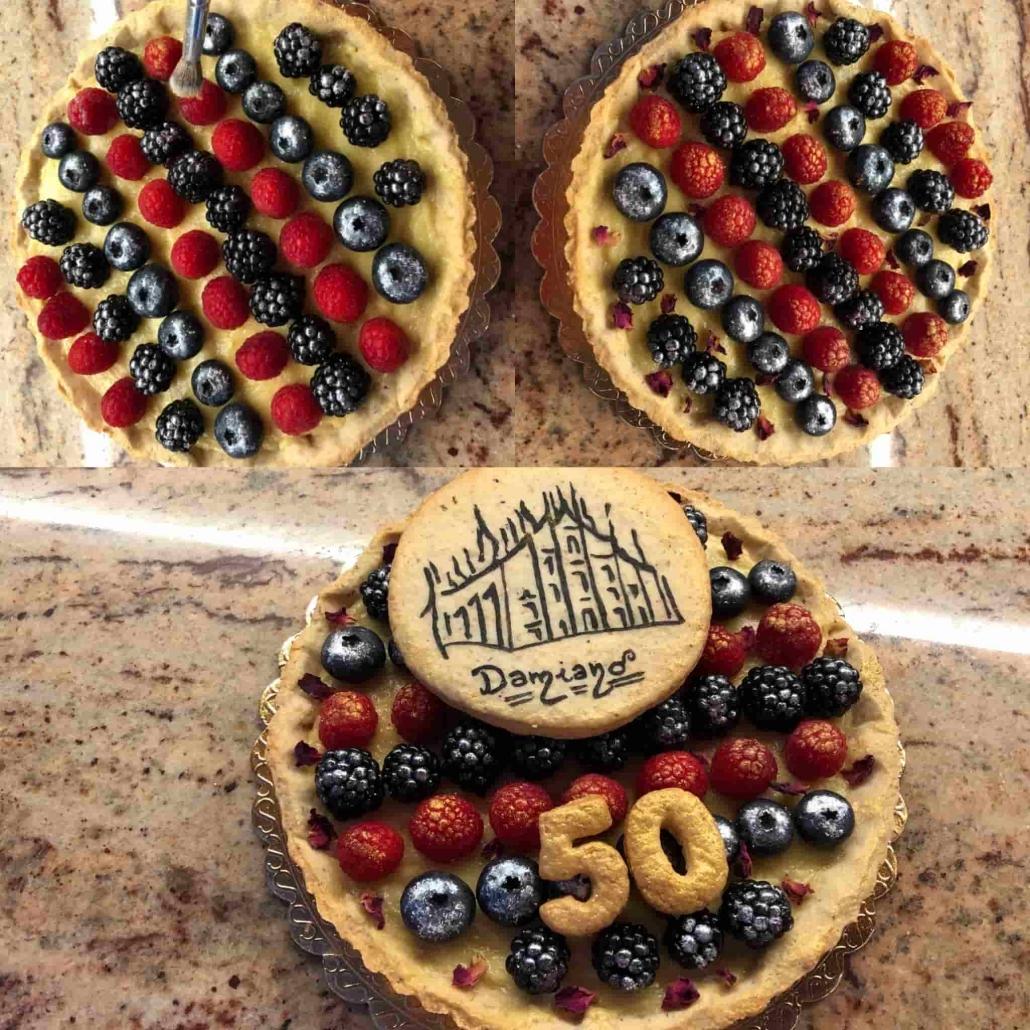 assemblare la crostata Damiano
