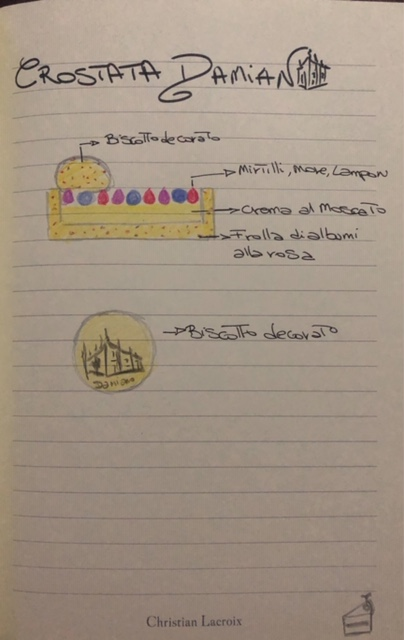 progetto per la crostata Damiano