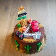 Torta cars , tripudio di cioccolato
