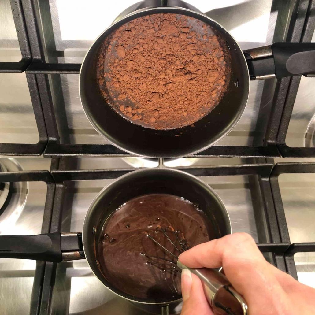 preparare la bagna al cacao
