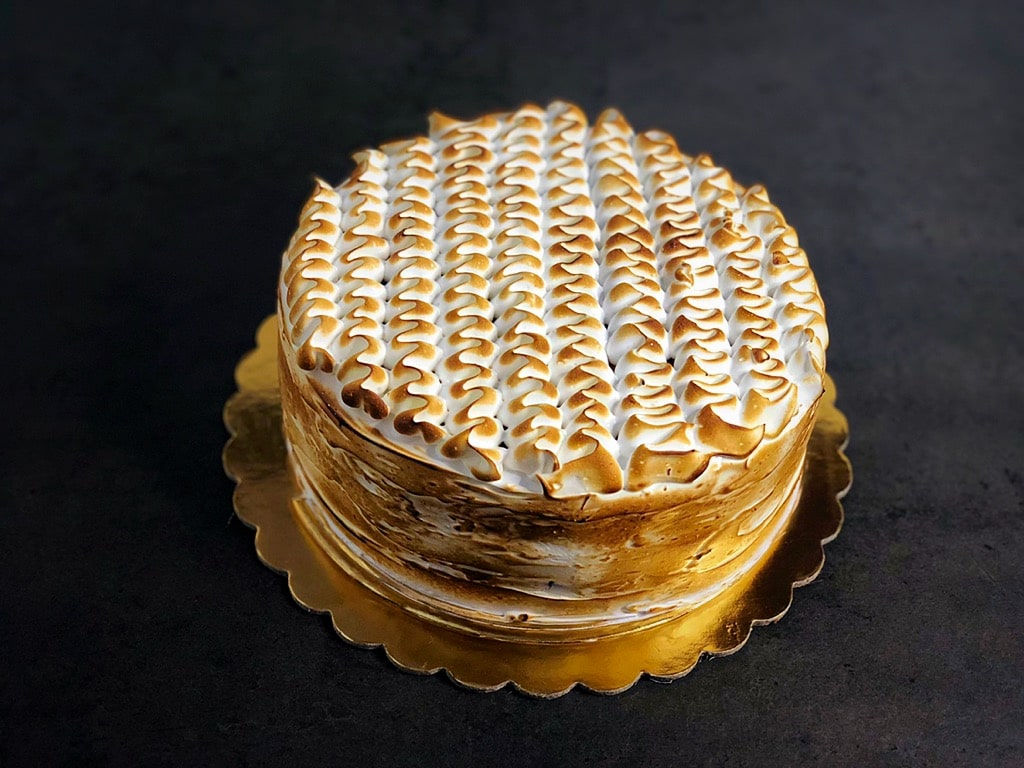 torta meringata senza biscotto