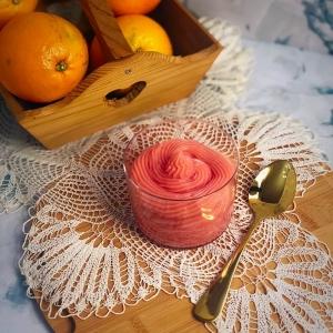 crema vegana all'arancia