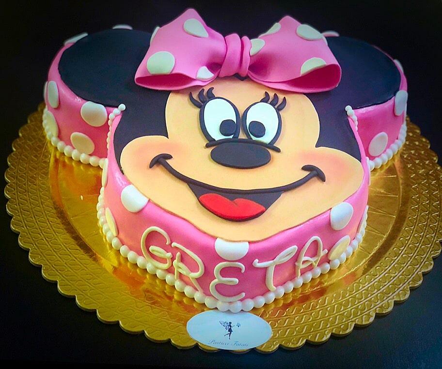 torta Minni personalizzata per Greta