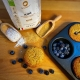 muffin integrali con mirtilli e cioccolato