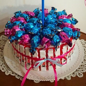 torta finta kinder