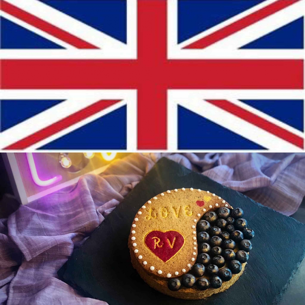 union jack and shortcrust pastry